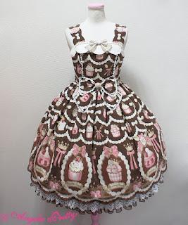 mintyfrills, kawaii, cute, sweet lolita, fashion, dress, klänning, brand,