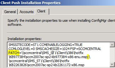 How to Install the SCCM Client with Hotfixes | NETvNext Blog