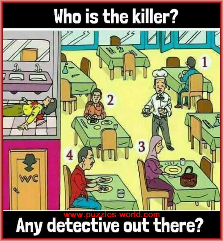 Who is the Killer ? Puzzle | Puzzles World