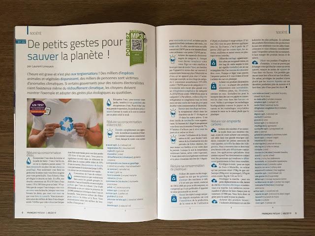 """""""Français Présent 48/2019"""" - przykładowy artykuł - Francuski przy kawie"""