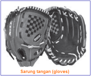 Ukuran sarung tangan (gloves) softball
