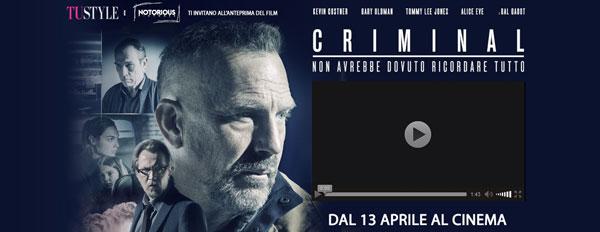 biglietti film Criminal
