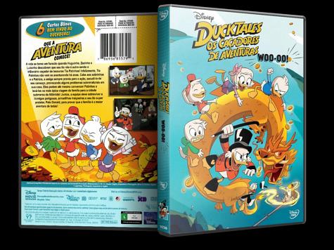 Capa DVD Ducktales: Os Caçadores de Aventuras - Woo-Oo