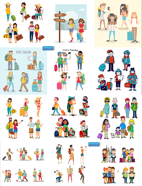 suu-tam-do-hoa-mau-con-nguoi-di-du-lich-people-traveling-vector-8771