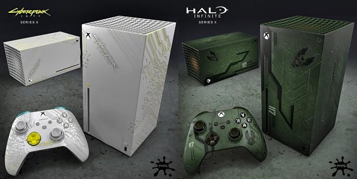 xbox one series x juegos halo y cyberpunk
