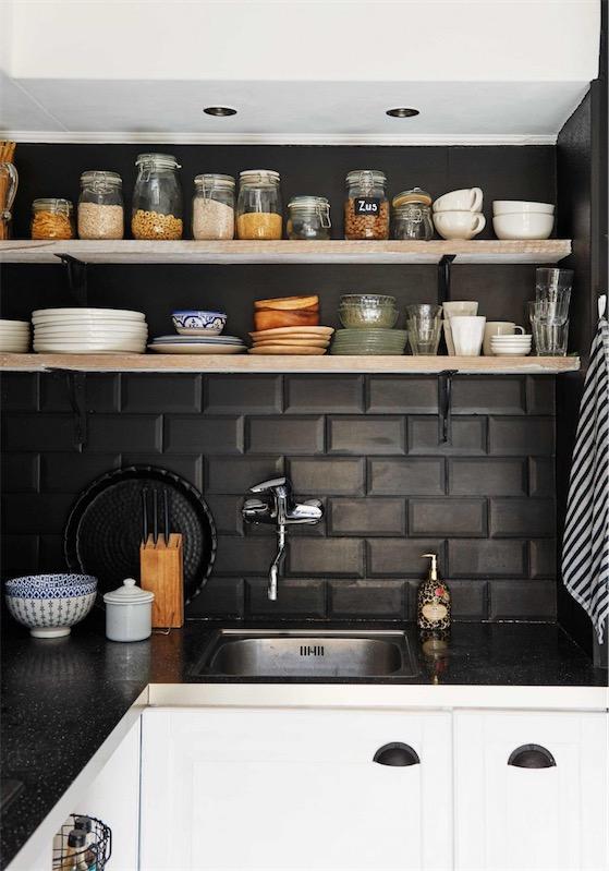 Todo al gris en la cocina chicanddeco