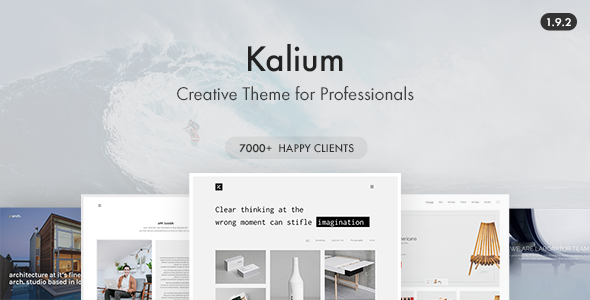 Kalium - Wordpress Theme