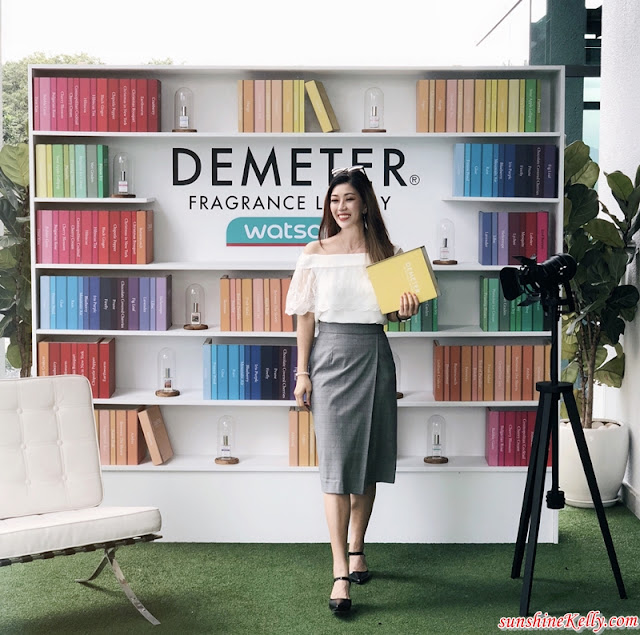 Demeter Fragrance Library, Watsons, Watsons Malaysia, Create Your Own Happy Fragrance, Fragrance, Beauty
