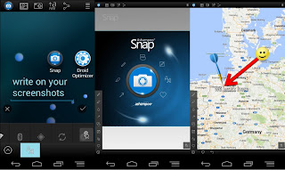 edita tus imagenes con screenshot snap free