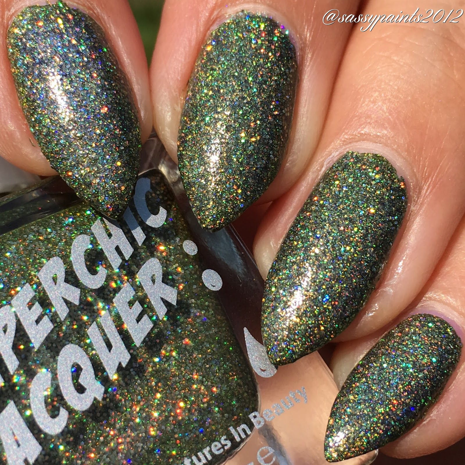 Sassy Paints: Superchic Lacquer: Project Runway Collection Swatches ...
