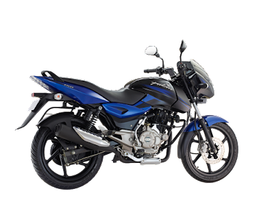 Bajaj Pulsar 150 DTSi right side blue image