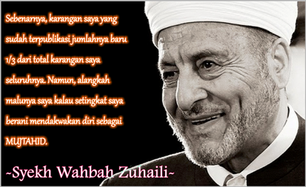 Biografi Wahbah Zuhaili