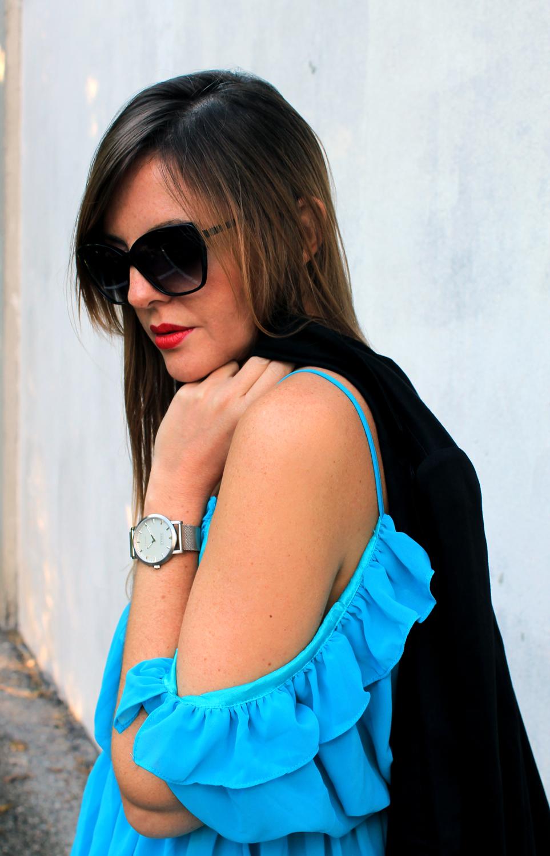 orologio Shore e occhiali Nau blogger