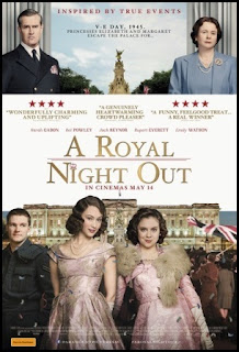 Cartel de Noche real (A Royal Night Out, 2015)
