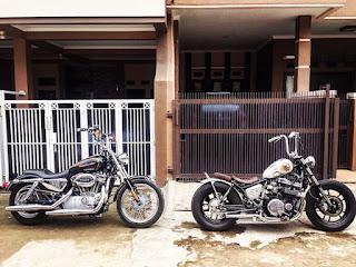 Moge Honda CBX650 Monggo Dipinang - BANDUNG