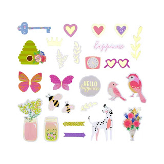 Weekend Fun Die Cut Shapes Set - Card Kit of the Month Extras