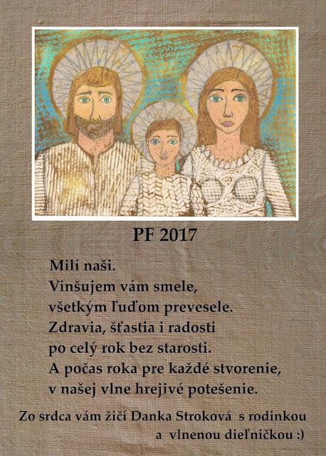 PF 2017 a poďakovanie sa vám všetkým, pre ktorých má naša práca zmysel :)