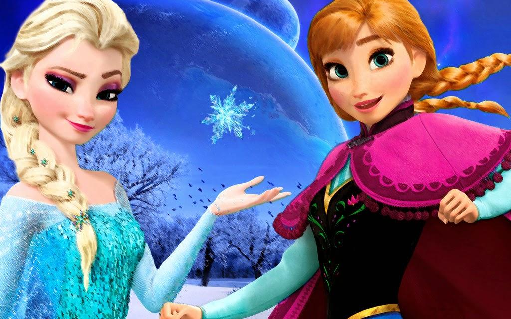 10 Gambar Frozen Elsa dan Anna  Gambar Top 10