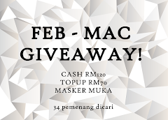 FEB - MAC GIVEAWAY; 34 HADIAH!