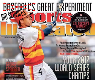Sports Illustrated Prediction for Houston Astros w George Springer.