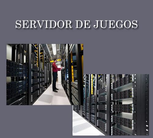 servidor de juegos