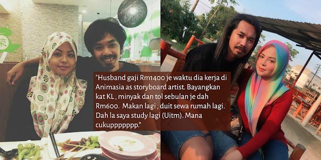"""Untuk isteri-isteri di luar sana, kadang-kadang bila hidup kita susah, jangan blame husband 100%"""