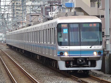 東京メトロ東西線 通勤快速 中野行き4 07系