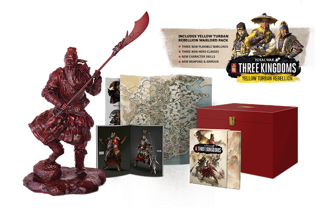 เกมสามก๊ก Total War: THREE KINGDOMS แบบ COLLECTOR'S EDITION