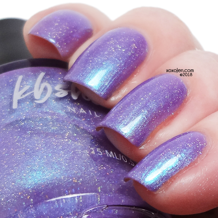 xoxoJen's swatch of KBShimmer Succ It Up