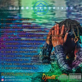 Djimetta - Djimmy Hindrixxx (Mixtape)