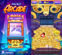 Mayan Coin Pusher - Pocket Arcade | Geeky Juan