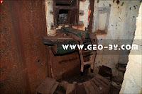 Пулеметная амбразура ДОТ №141б