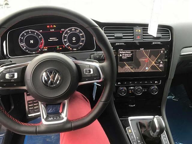 VW Golf 2018 na Alemanha