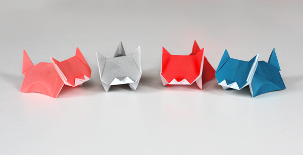 Cuteness alert: more kitten origami | How About Orange - photo#23