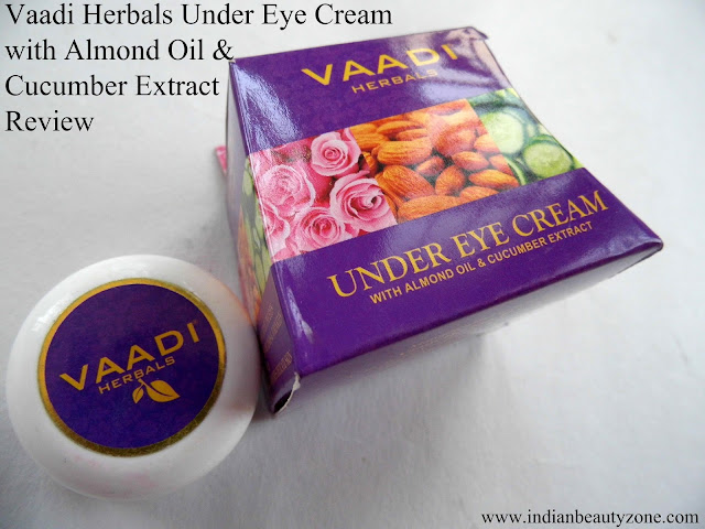 Herbal under eye cream