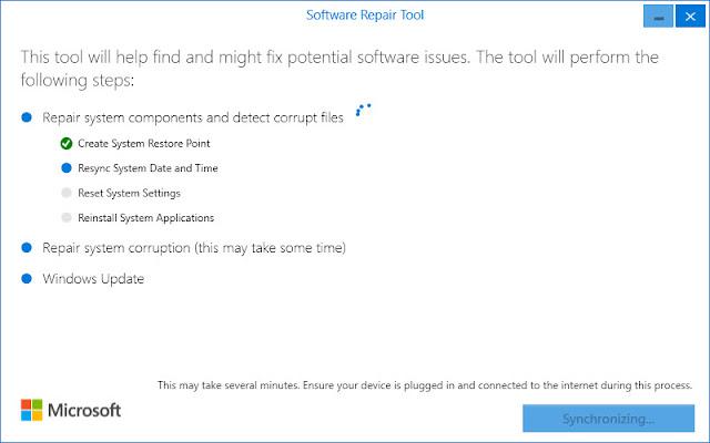 Công cụ Software Repair Tool mới sẽ giúp bạn khắc phục các vấn đề trên Windows 10