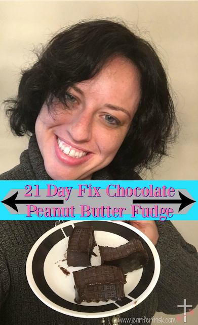 21 Day Fix Approved Fudge Chocolate Peanut Butter