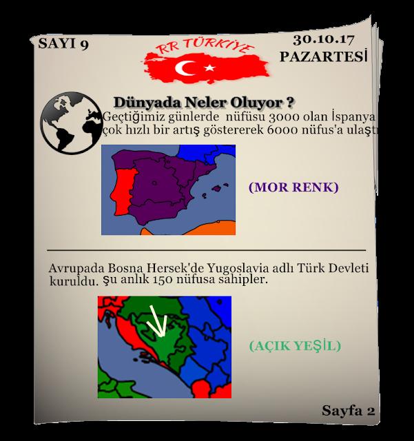 Rival Regions Türkiye 9.sayısı