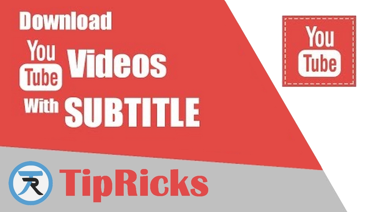 how to download youtube video with subtitles