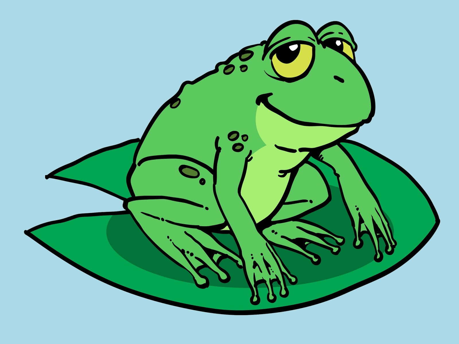 cartoon frog pictures - photo #4