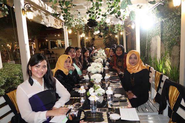 gala dinner beautiesquad di secret garden