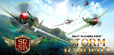 ေ၀ဟင္မွာ စစ္တိုက္မယ္ - Sky Gamblers: Storm Raiders v1.0.4 APK