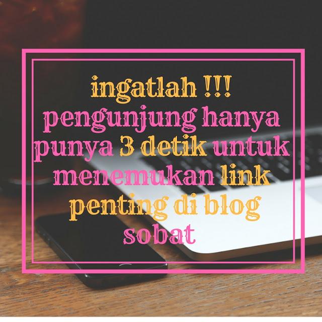 3 kunci untuk membuat blog yang menarik dan nyaman dibaca