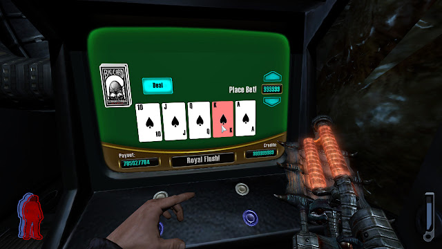 Prey poker royal flush maximum win