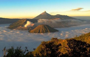 The beauty of Mount Bromo in Indonesia