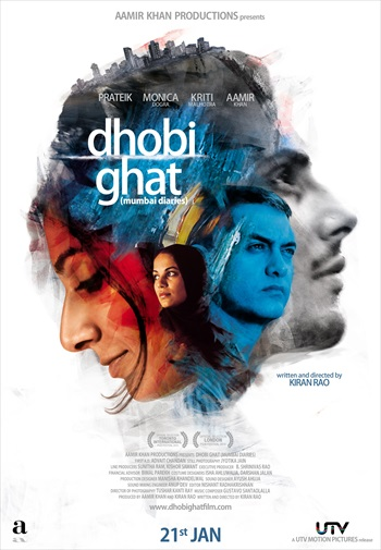 Dhobi Ghat 2010 Full Movie Hindi 300MB 480p