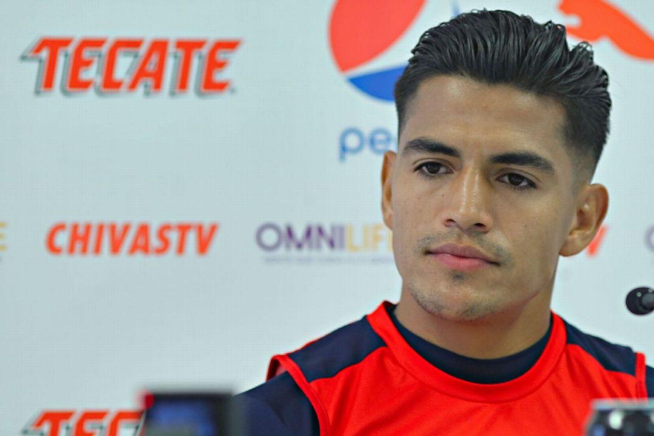 Jesús 'Chapo' Sánchez en conferencia de prensa.