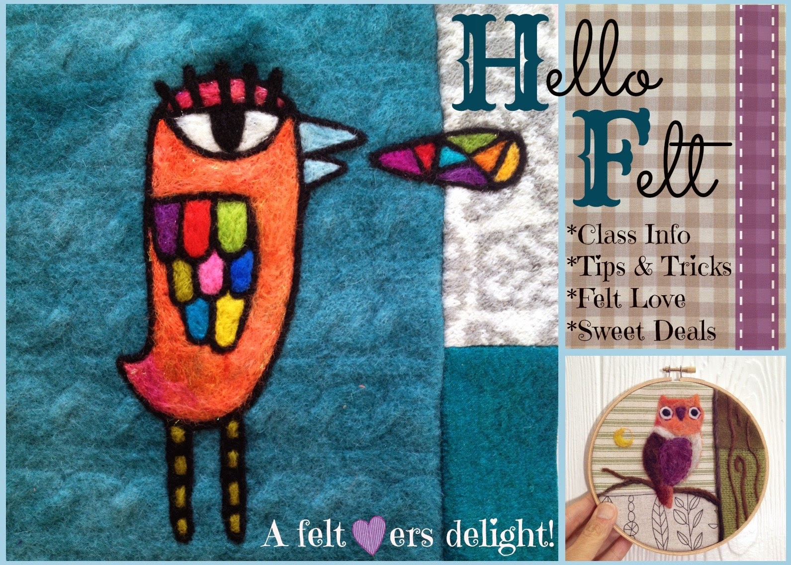 Learn to Needle felt!