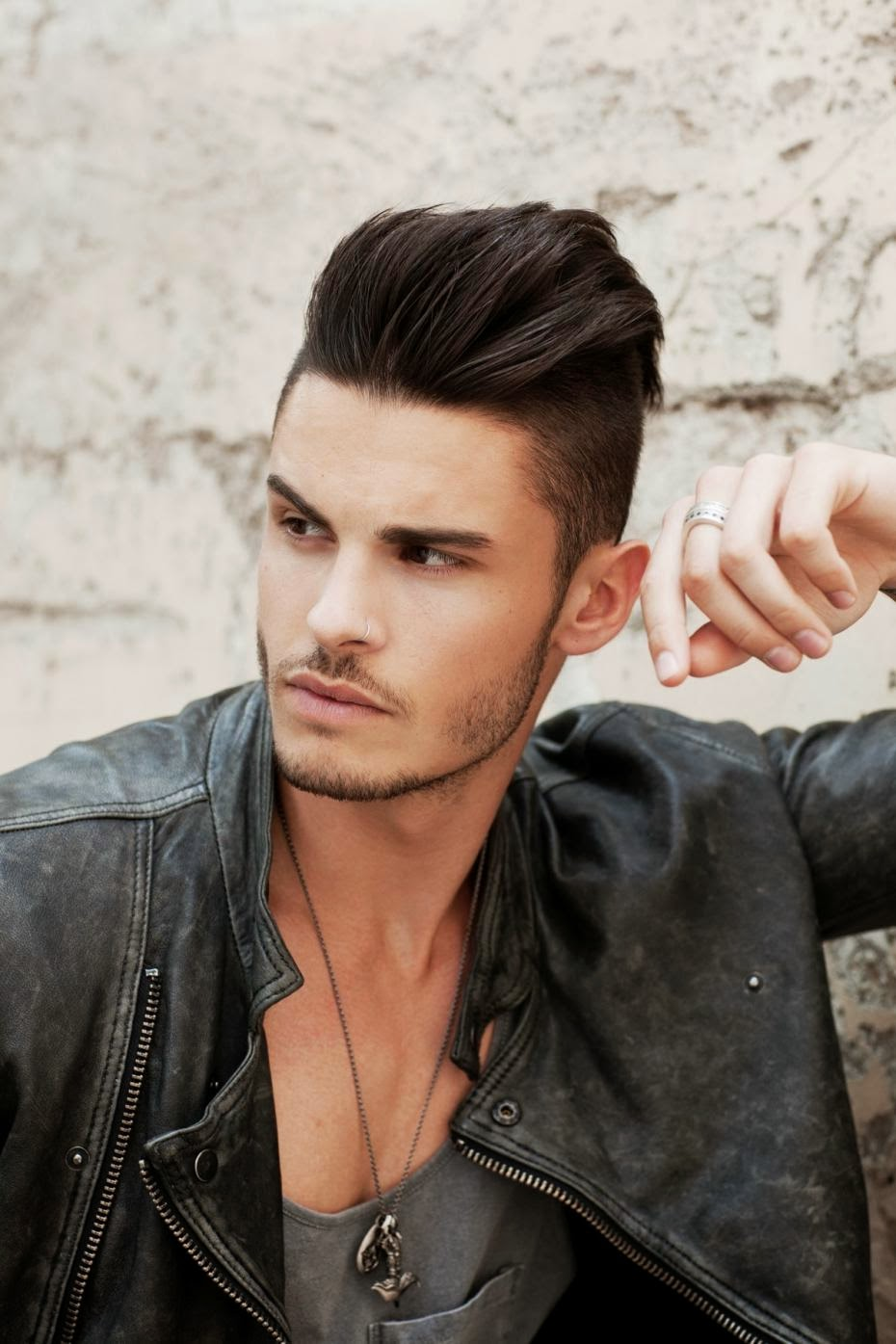 Top Male Models On Instagram: THE HOT TOP MALE MODEL BAPTISTE GIABICONI