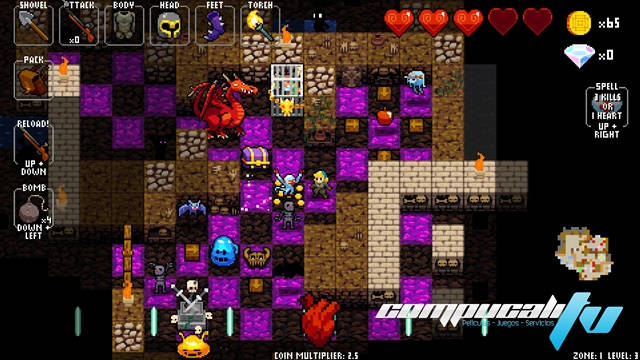 Crypt of the NecroDancer PC Full Español